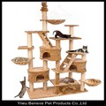 Luxury natural sisal rope cat tree,cat house