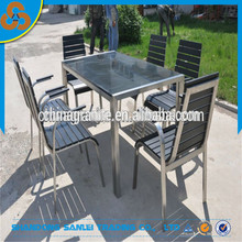 stainless steel garden stone tables and chairs