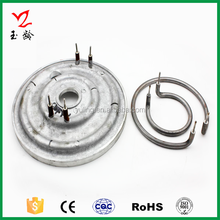 Rice cooker die-casting aluminum heating plate