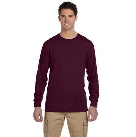 Newest Men's Long Sleeve Crew Neck Plain Blank Dryfit Quick Dry T-shirt 100%polyester t shirt Tee Tops