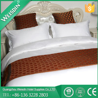 Guangzhou WEISDIN wholesale new style jacquard fabric bed sheet
