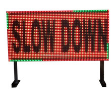 Outdoor Electronic Variable Traffic Message Open LED Sign Board