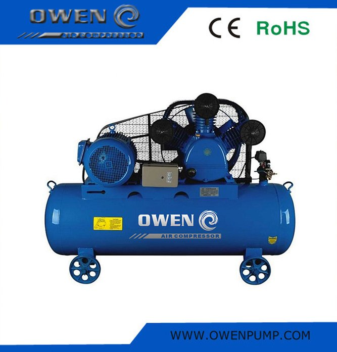 Industry portable piston type AC power engine drive air compressor