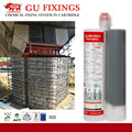 Longer working time epoxy structural construction