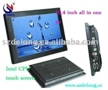 10.4'' Mini fanless embedded Pos PC,Touch panel PC