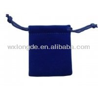 high-quality fancy velvet pouches/bags for jewelry/gift,customizable