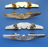 UAE wing badges gifts, United Arab Emirates airline gold and silver polit wings badges