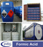 factory chemical 85% min low price formic acid for textile industry