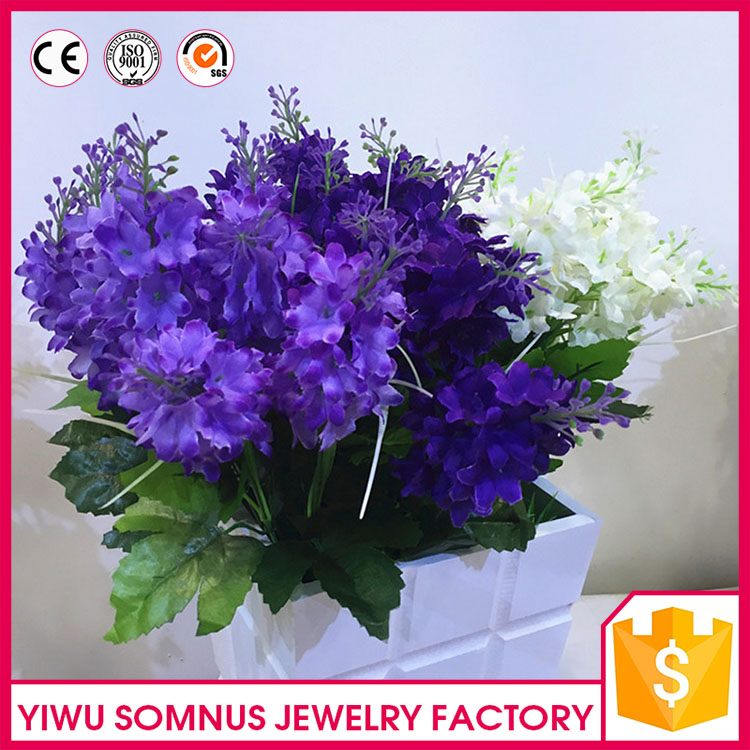 Real touch decoration artificial garden Hyacinth <strong>flower</strong>
