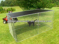 Large Dog Kennel Made By Chain link fence