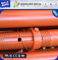 alibaba china supplier Scaffolding pipe support system steel telescopic shoring for construction material