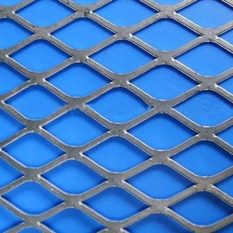 Iron expanded wire mesh