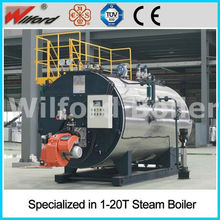 Horizontal Diesel LPG Oil Steam Boilers