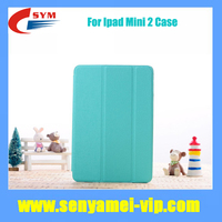 High Quality Tri-Fold Ultra Thin PU Leather Smart Cover Case For Apple iPad 2 Mini with Retina Display