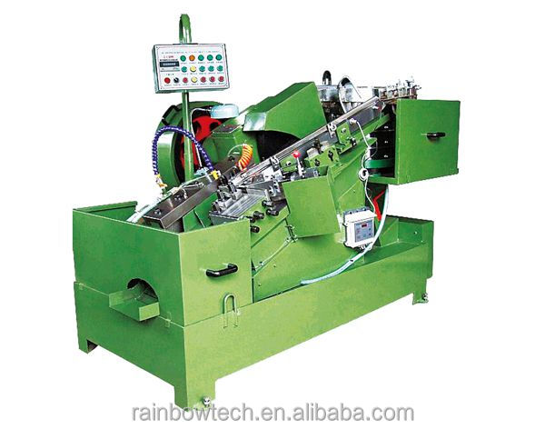 High Speed Bolts and Screws Flat Die Thread Rolling Machine