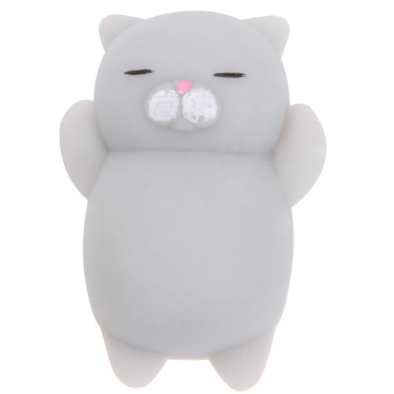 OLEEDA Mini Decompress Squishy Squeeze Soft Slow Rising Healing Toy Kawaii Animal Lazy Cat Funny Kids Children Toys Gift