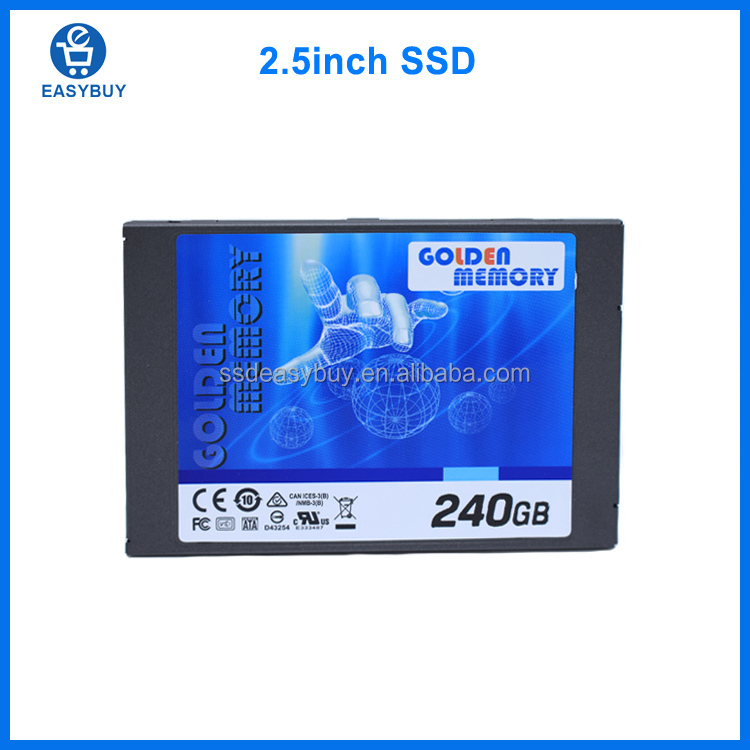 256gb Golden Memory ssd hard drive solid state disk 2.5 sata servidor server application sshd