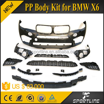 JC Sportline PP Body Kit for BMW X6 M 2014 UP