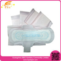 Net surface ultra thin sanitary lady pad for Feminine special period