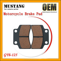 GY6-50 GY6-125 AG100 MIO Crypton Brake Pads for Yamaha in Low price Factory Wholesale