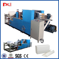 interfold c-folded tissue towel paper making machine