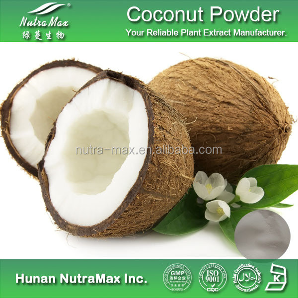 Factory Supply Low Fat Desiccated Coconut Fruit Juice Powder with Health Food