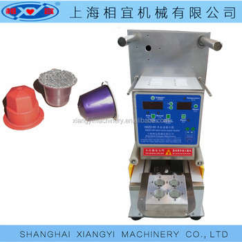 Coffee Capsules sealing machines