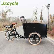 Luxury Transportation electric+bicycle cargo trike