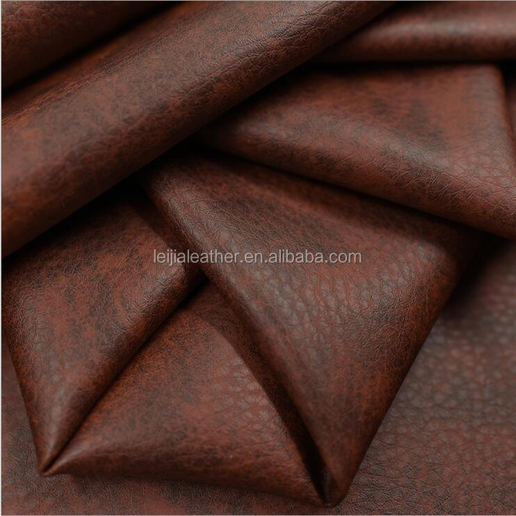 wholesale faux leather fabric pvc synthetic leather for sofa automotive usages