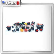 Quality manufacturer Titan Electronic dpdt 6 pins boat rocker switch