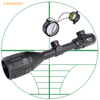 3-9X50AOEG Laser Rifle Scope,Windage&elevation adjustment hunting riflescope, red and green laser sight