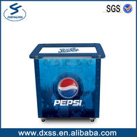 Garden Insulated Pepsi Led Ice Bucket Cooler Box for Outdoor