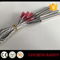High density electric cartridge heater element heating rod