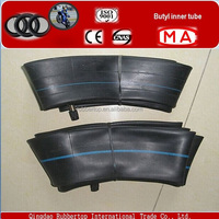 butyl and natural rubber inner tube motorcycle,motorcycle tyre tube 4.00-8 Valve TR13