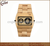 2014 The New Design Wooden Watch Men Wristwatch With Japanese Movement