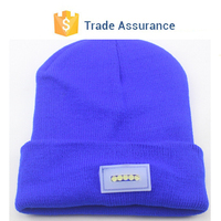 Led Llight Wholesale Beanies Knitted Hats Beanies Beanie Skull Cap