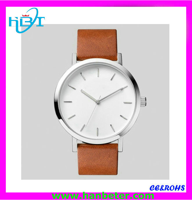 Silm analog Classic brand best selling leather strap tw810 watch