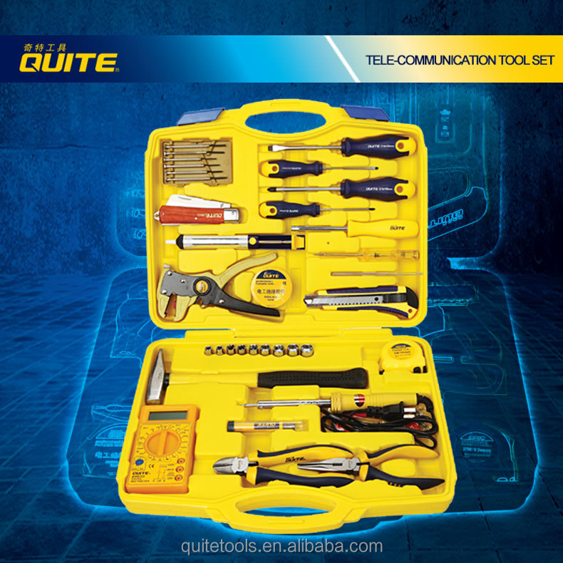 Mutil Function 35 PCS Telecommunication Mobile Tool <strong>Kits</strong> Manufacturer for Electronic Products