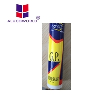 Alucoworld good price 100% silicone sealant silicone glue for fabric