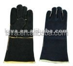 leather Welding Glove BBQ glove With EN388 EN420 EN407