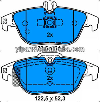 Brake Pad for benz 005 420 07 20 W204 X204