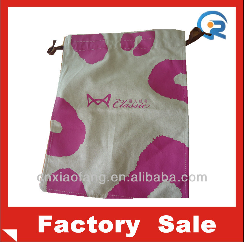Hot Sale Wholesale Canvas Drawstring Bag for Bra