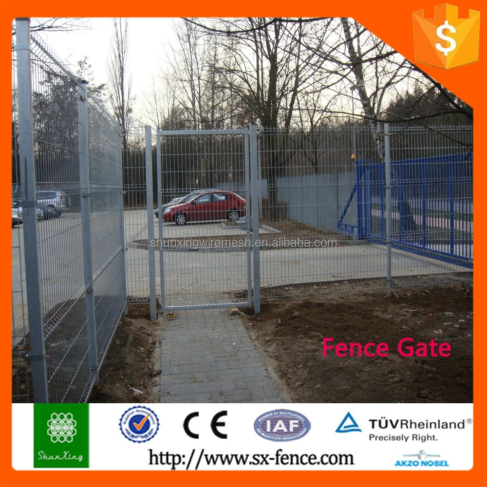 ISO9001 Hot sale All kinds of gate designs with powder coated fence