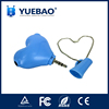 Novelty gifts heart shaped earphone splitter enjoy music one to two splitter cable