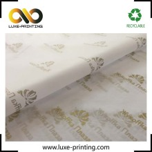 Nice design personalized custom printed logo soft garment packing tissue wrapping paper