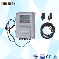 Ultrasonic high temperature clamp on transducer
