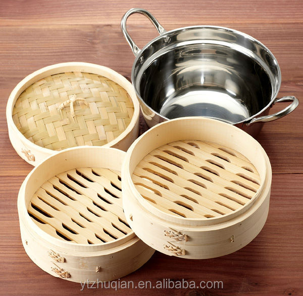 2017 Newest Idli cooker bamboo steamer as seen on TV