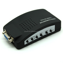 Wholesale factory supply AV to VGA Converter (TV to PC) RCA Composite and S-Video to VGA Converter