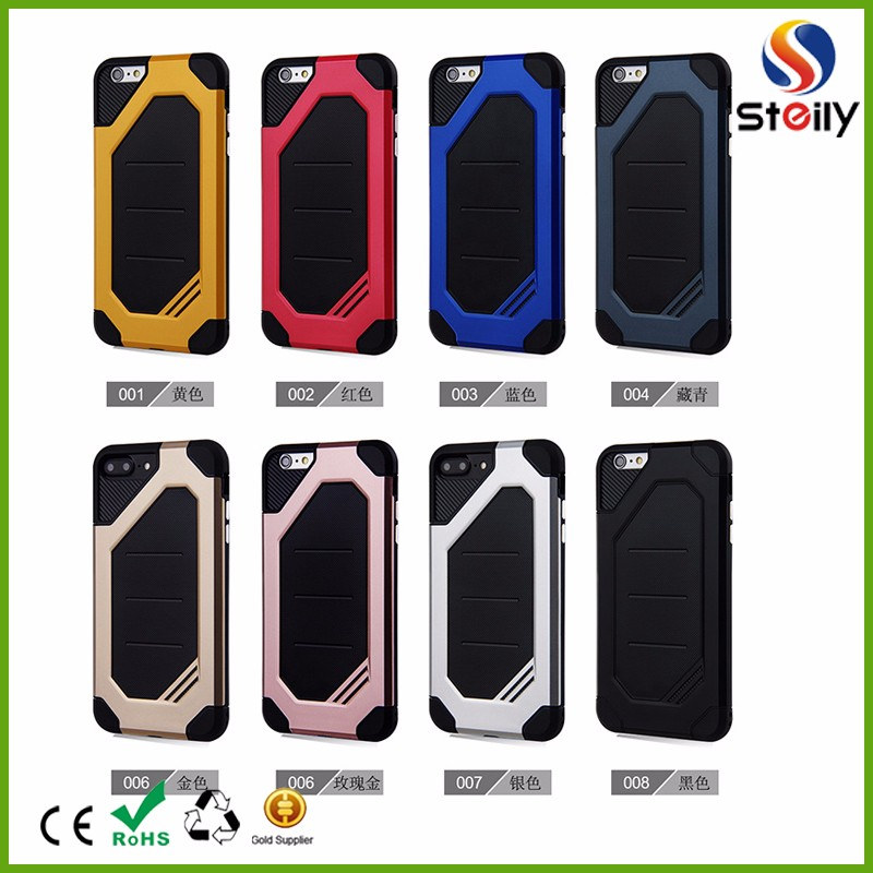 Factory price anti droping TPU+PC case two in one case for iPhone
