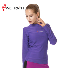 wholesale useful girls long sleeve swim top uv rash guard